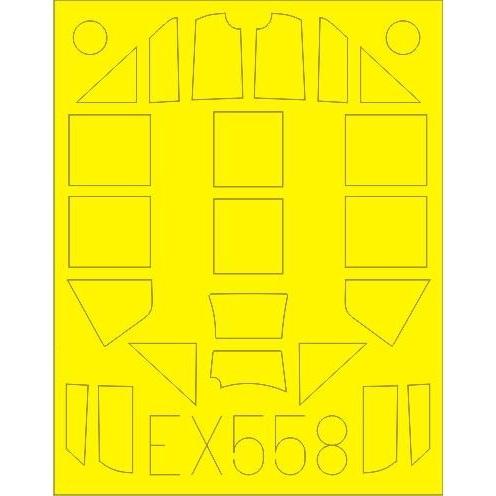 【新製品】EX558)メッサーシュミット Bf109G-4