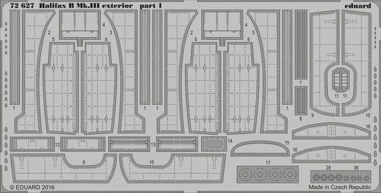 【新製品】72627)ハンドレページ ハリファックス B Mk.III 外装