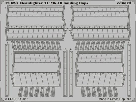 【新製品】72628)ブリストル ボーファイター TF Mk.10 フラップ
