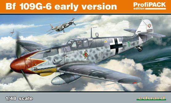 【新製品】82113)メッサーシュミット Bf109G-6 初期型 プロフィパック