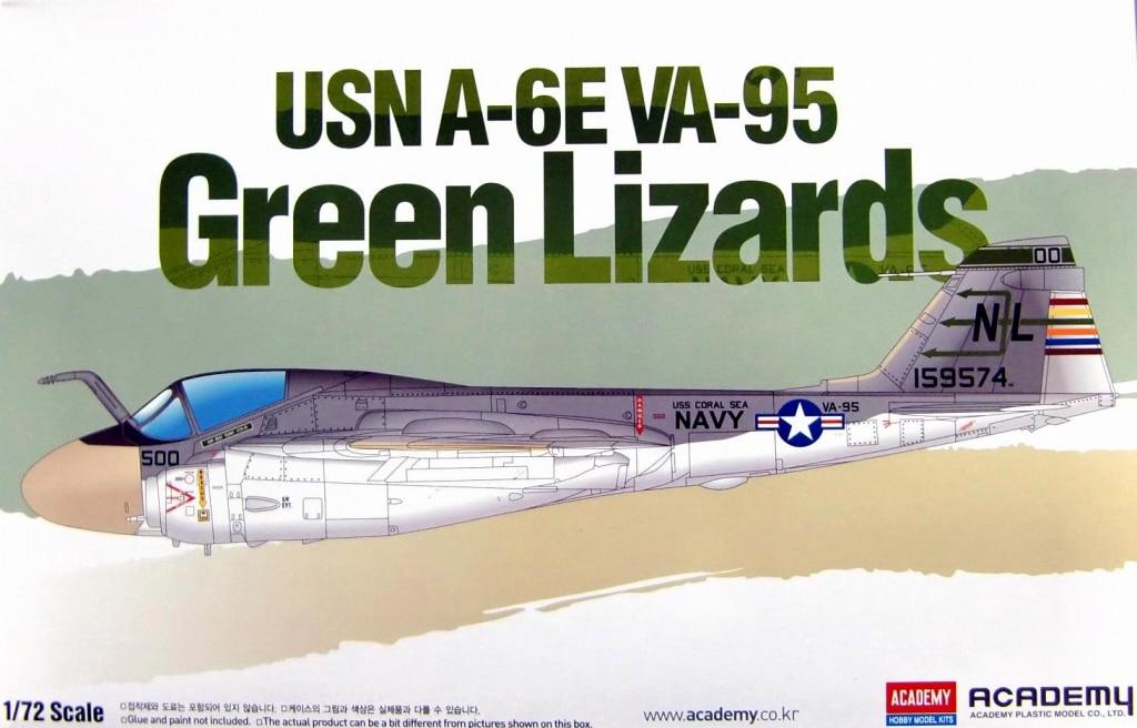 【新製品】12543)アメリカ海軍 A-6E VA-95 イントルーダー グリーン・リザーズ