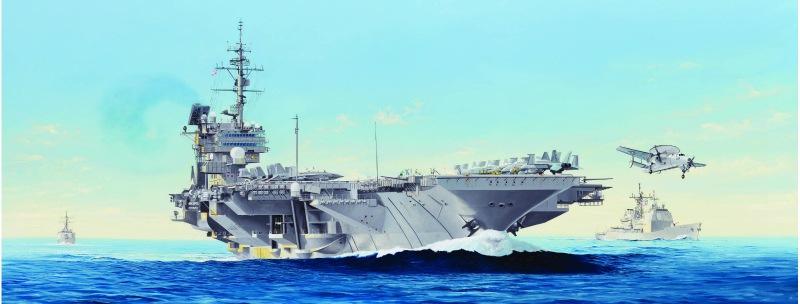 【新製品】05620)キティホーク級航空母艦 CV-64 コンステレーション