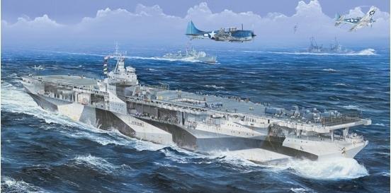 【新製品】05629)米国海軍 航空母艦 CV-4 レンジャー