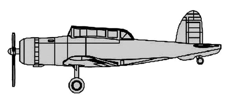 【新製品】06276)ブラックバーン スクア艦上爆撃機