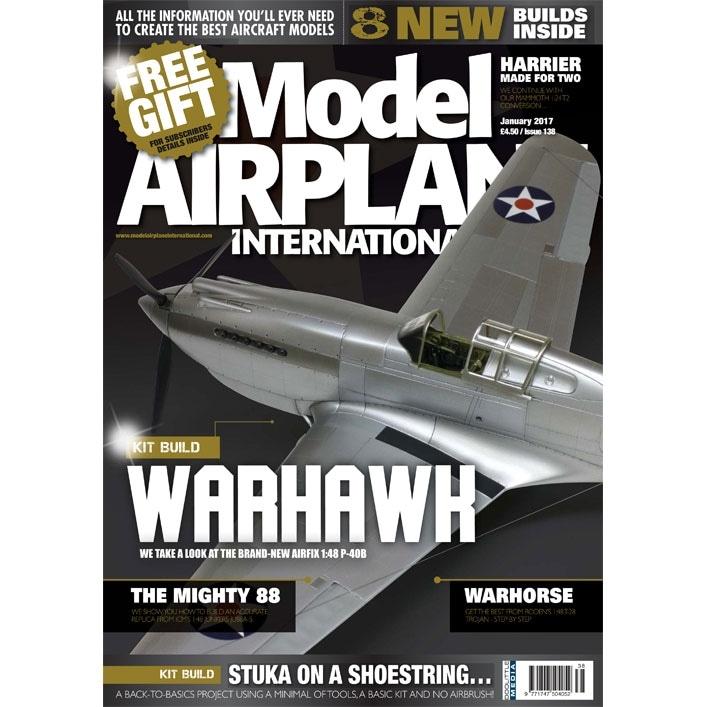 【新製品】モデルエアプレーンインターナショナル 138)WARHAWK