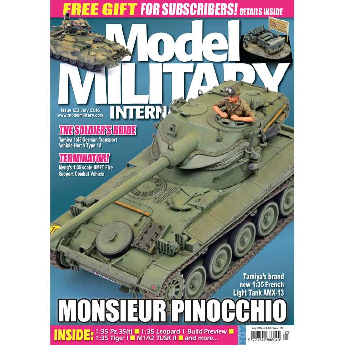 【新製品】モデルミリタリーインターナショナル 123)MONSIEUR PINOCCHIO