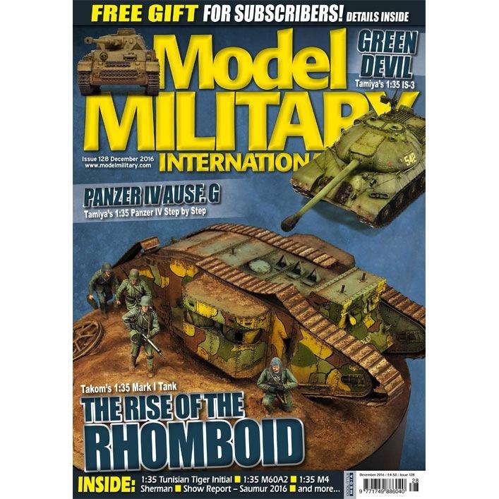 【新製品】モデルミリタリーインターナショナル 128)THE RISE OF THE RHOMBOID