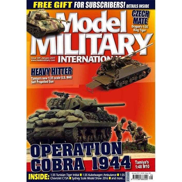 【新製品】モデルミリタリーインターナショナル 129)OPERATION COBRA 1944