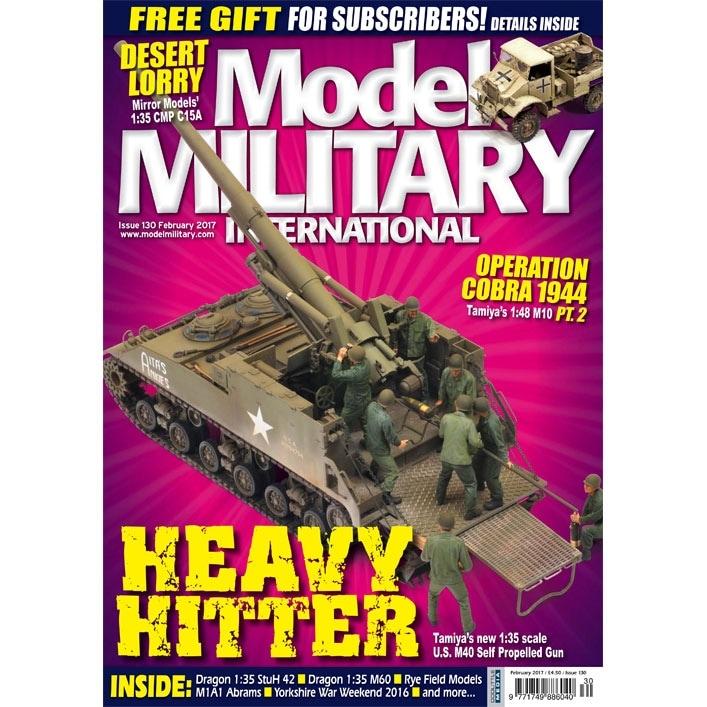 【新製品】モデルミリタリーインターナショナル 130)HEAVY HITTER