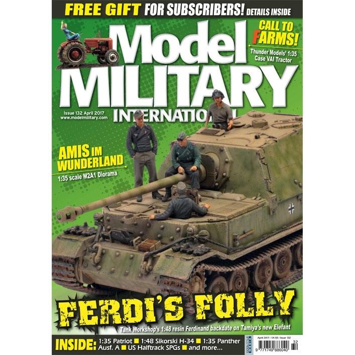 【新製品】モデルミリタリーインターナショナル 132)FERDI'S FOLLY!