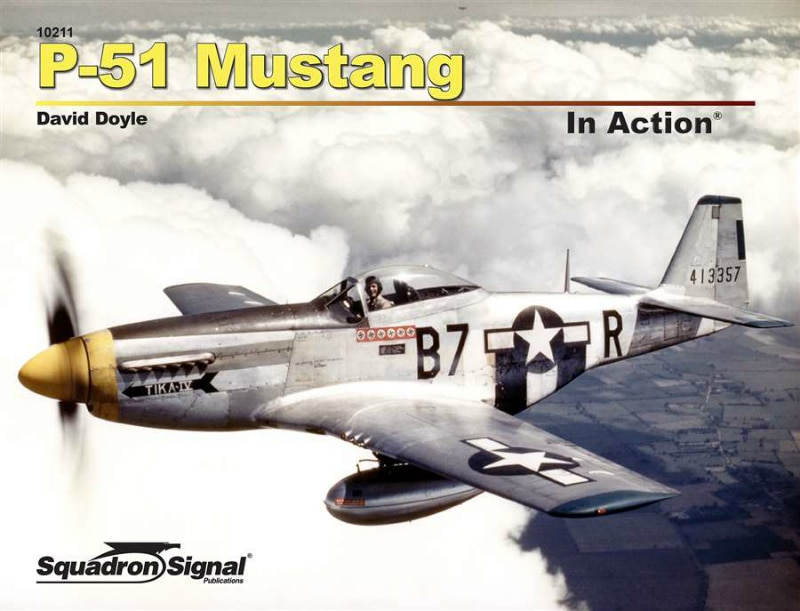 【新製品】10211)P-51 マスタング インアクション