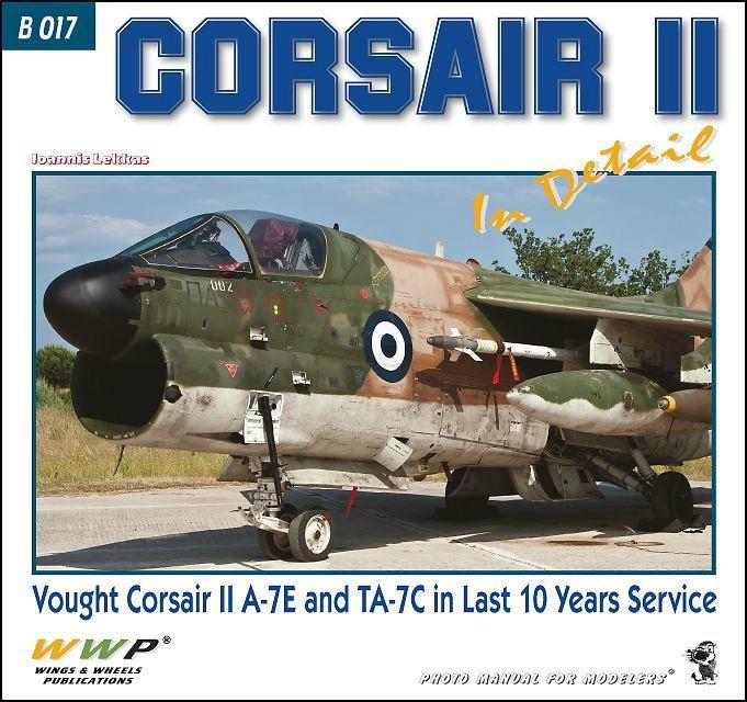 【新製品】B017)A-7E/TA-7C コルセアII ディテール写真集