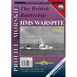 【新製品】PROFILE MORSKIE No.118)英国海軍 戦艦 ウォースパイト 1941