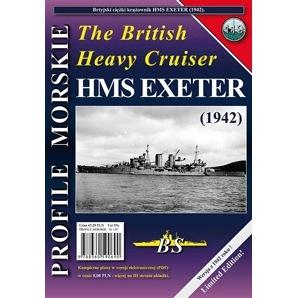 【新製品】PROFILE MORSKIE No.119)英国海軍 重巡洋艦 エクセター 1942