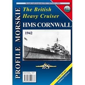 【新製品】PROFILE MORSKIE No.123)英国海軍 重巡洋艦 コーンウォール 1942