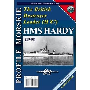 【新製品】PROFILE MORSKIE No.126)英国海軍 H級 嚮導駆逐艦 ハーディ H87