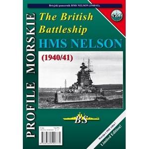 【新製品】PROFILE MORSKIE No.127)英国海軍 戦艦 ネルソン 1940/41