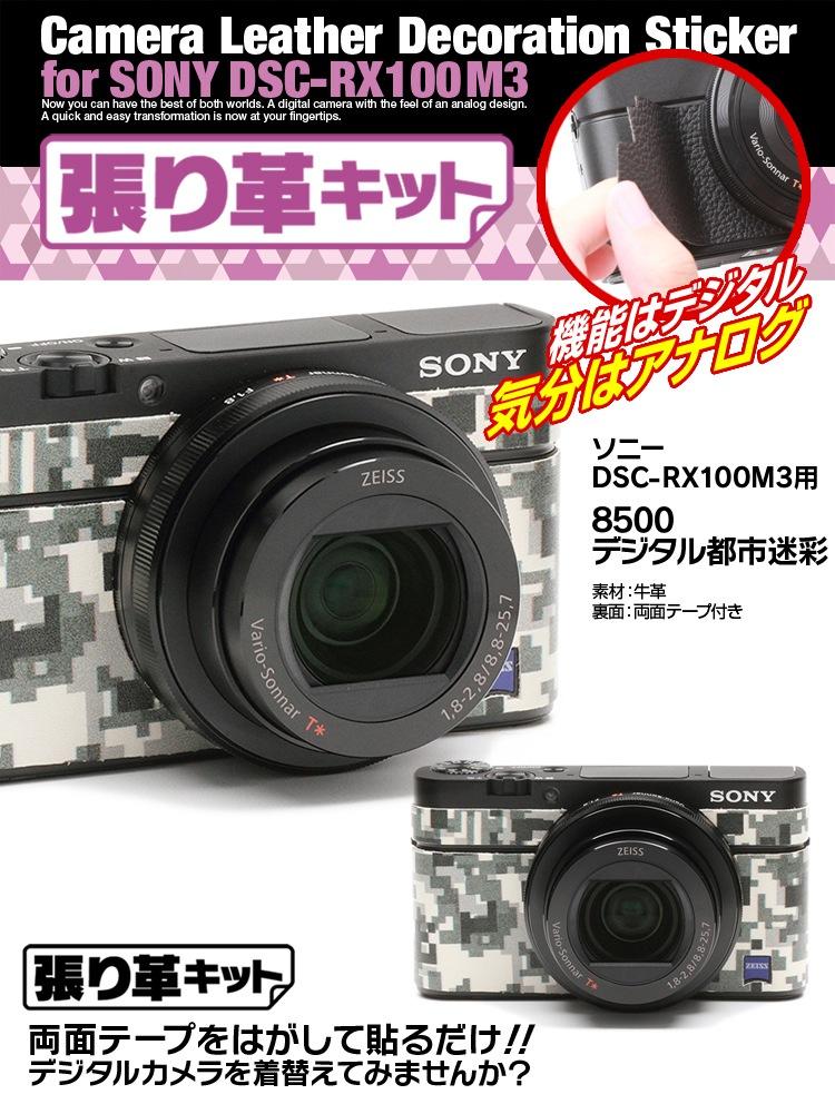 RX-100M3デジタル都市迷彩
