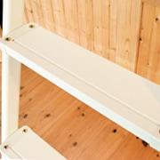 金属製ロフトはしごシンプルラダーの踏板