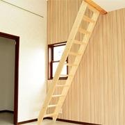 北欧産デザインステップ木製ロフト階段は組立式