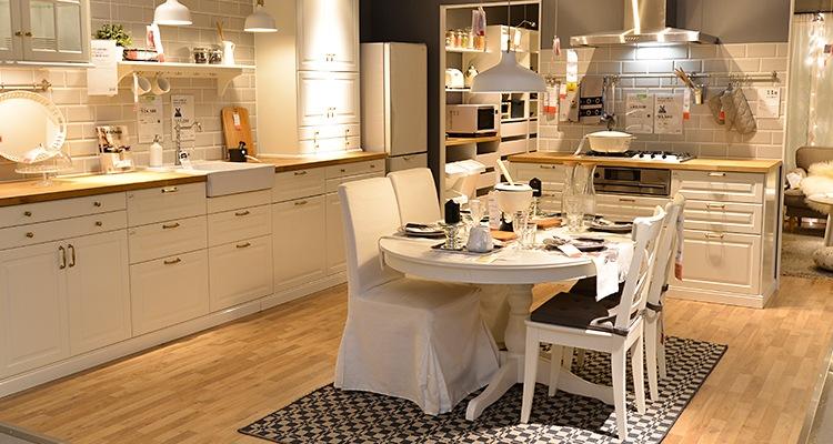 北欧ともゆかりのあるイノヴァーフロア・IKEAで採用
