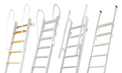 カテゴリー:金属製ロフトはしご