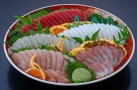 刺身皿鉢・刺身盛合せ