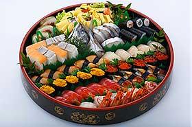 特上寿司盛り合せ