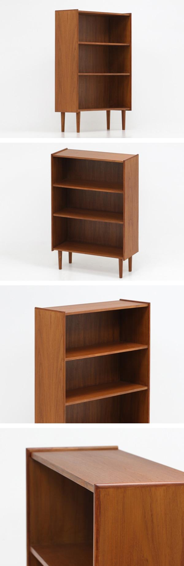 北欧デザイン家具,Klokken,クロッケン,チーク材,収納,本棚,靴箱,ブックシェルフ