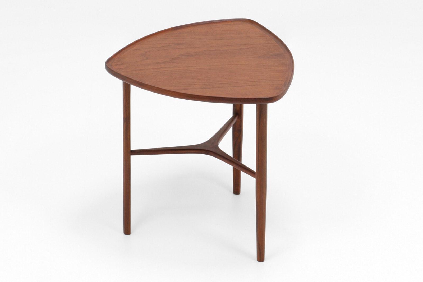 北欧,デザイン,家具,クロッケン,チーク材,サイドテーブル