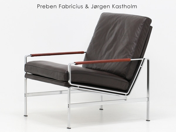 Preben Fabricius & Jorgen Kastholm,ヴィンテージ,ラウンジチェア,家具,椅子,Kill International,FK6720-1,mobilia,モビリア