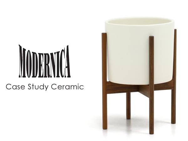 MODERNICA,モダニカ,Ceramic,セラミック,フラワーベース,プランター,北欧,木製,陶器,モダン,デザイン
