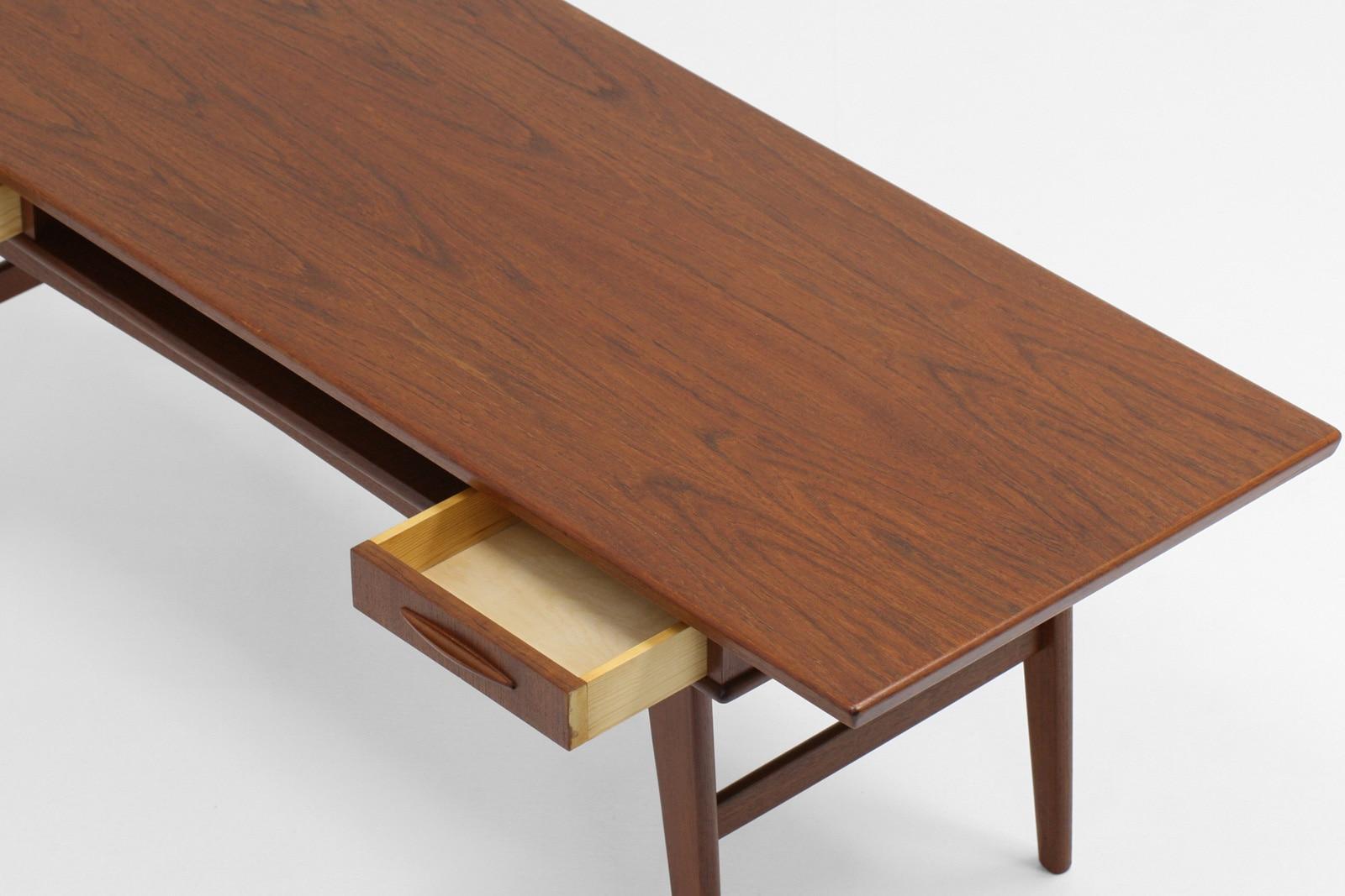 北欧,家具,ヴィンテージ,コーヒーテーブル,棚,引き出し付き