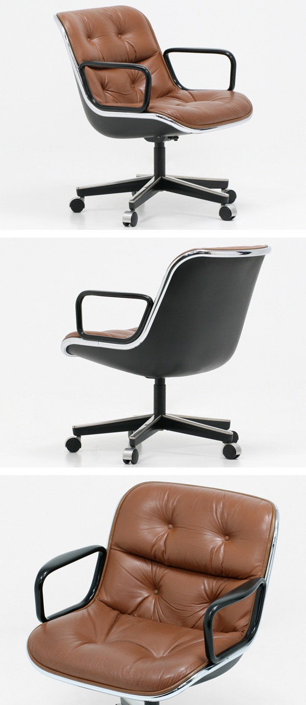 knoll,ノール,ポロックチェア,キャメル,中古,デザイナーズ家具,価格,2015,入荷