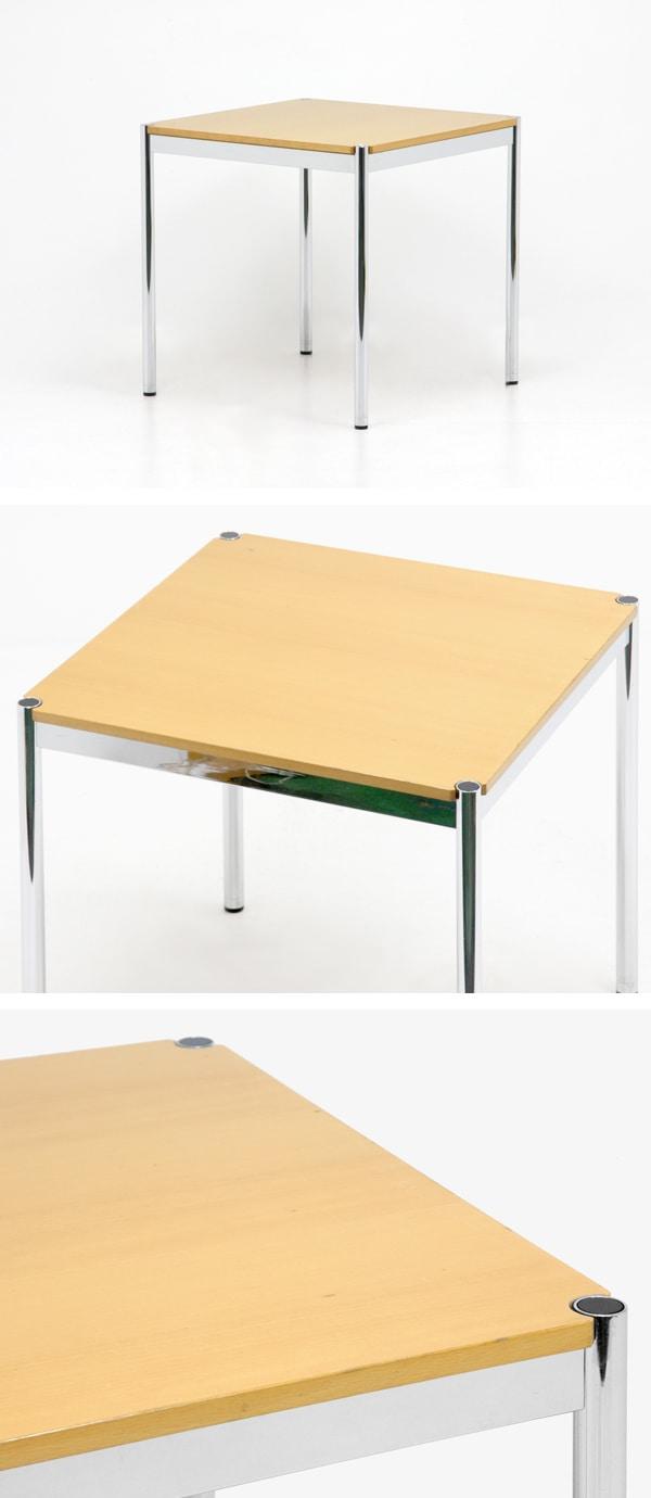 USMハラーテーブル,ダイニングテーブル,75cm×75cm,中古,フリッツハラー,デザイナーズ家具