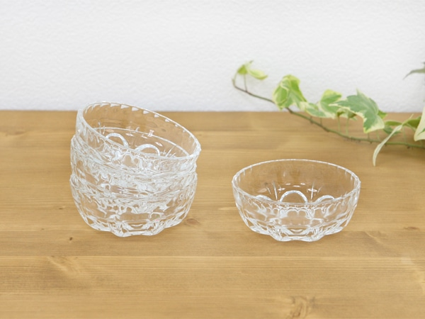 昭和レトロ,ガラス食器,ルック,小皿,セット