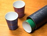 Arita Share Glassセット (ブルー、ピンク、グリーン各1色 3個セット)