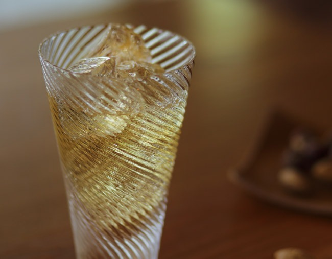 Goods Bar×Sghr 匠と創るウイスキーグラス 05:ハイボールグラス「渦流」