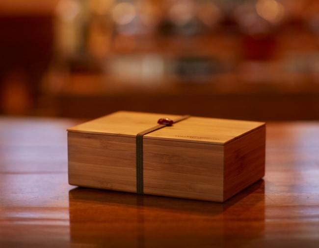 山崎蒸溜所オリジナル 竹製弁当箱