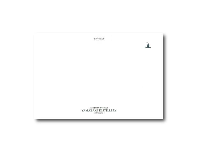 山崎蒸溜所オリジナル ポストカード(四季4枚セット)