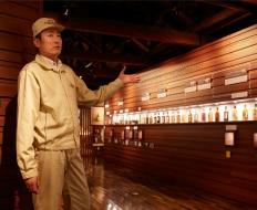 情報満載の展示スペース