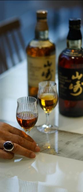 山崎×タケオキクチ 香り愉しむフレグランスグラス TAKEO KIKUCHI