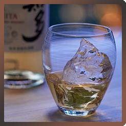 サントリーウイスキー「知多」&Sghr<br>風香るロックグラス ギフトセット