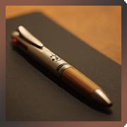 山崎樽材多機能ペン
