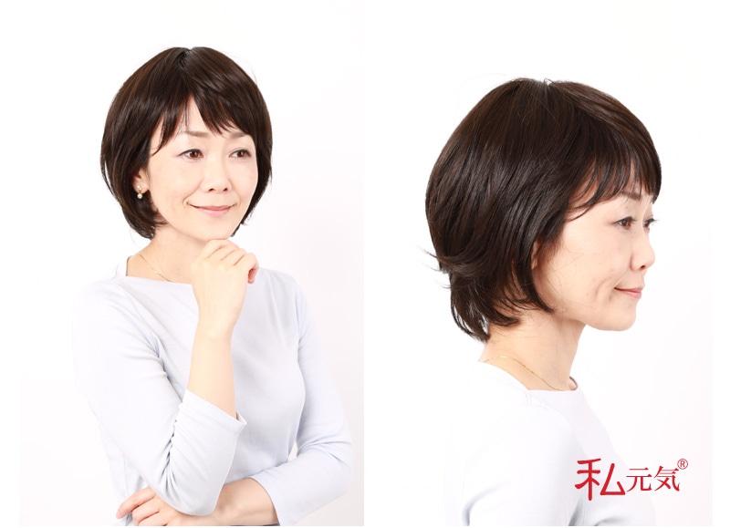 医療用ウィッグ 人毛ウィッグ かつら 自然 安い 女性用 カツラ