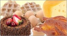 フェイクフード パン・卵・肉・菓子