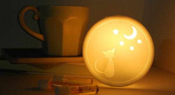 アロマライトセット ネコのイメージ画像