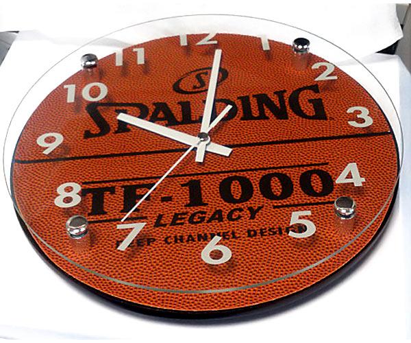 バスケットボール掛け時計
