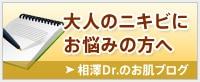 大人のニキビにお悩みの方へ。相澤ドクターのお肌ブログ。