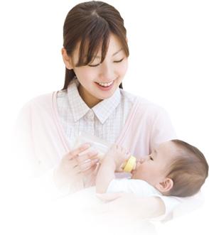 羊水の中で育つ赤ちゃんにも安心な水を。